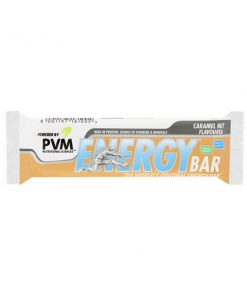 PVM Energy Bar Caramel Nut 45g bar