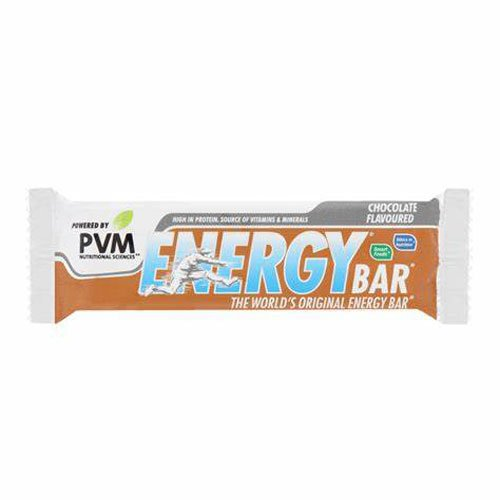 PVM Energy Bar Chocolate 45g bar