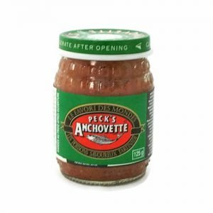 Pecks Anchovette Fish Paste 125g jar