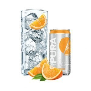 Pura Soda Seville Orange single 300ml can