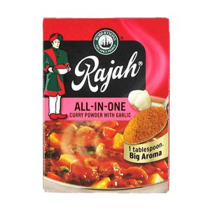 Rajah Curry Powder All in one Garlic 100g pack