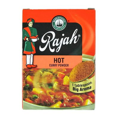 Rajah Curry Powder Hot 100g pack