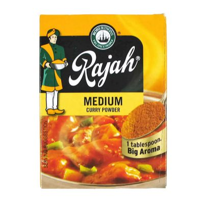 Rajah Curry Powder Medium 100g pack