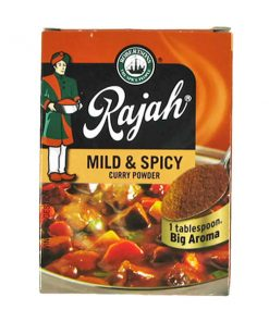 Rajah Curry powder Mild and Spicy 100g pack