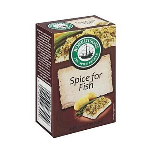 Robertsons Spice Spice for Fish refill 80g box