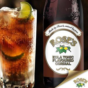 Rose's Cordial Kola Tonic 750ml