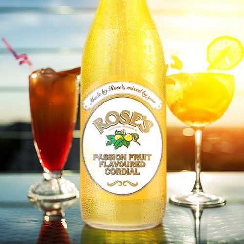 Rose's Cordial PassionFruit 750ml