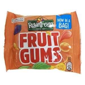 Rowntrees Fruit Gums 43.5g bag