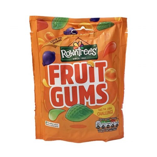 Rowntrees Fruit Gums 150g bag