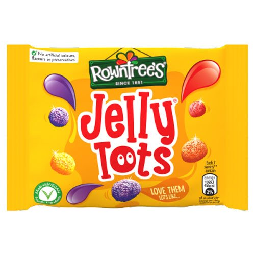 Rowntrees Jelly Tots 42g (eng)