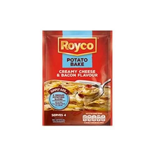 Royco Potato Bake Creamy Cheese & Bacon Flavour 40g sachet