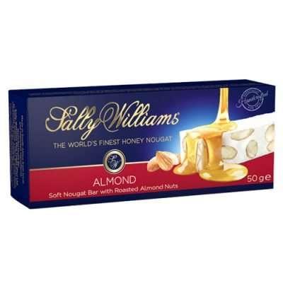 Sally Williams Nougat Almond 50g bar
