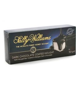Sally Williams Nougat Dark Chocolate 50g bar