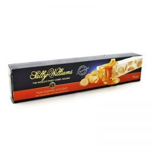 Sally Williams Nougat Macadamia 110g