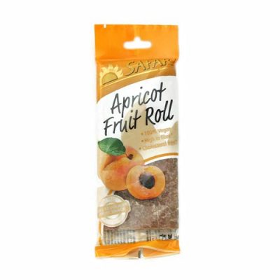 Safari Fruit Roll Apricot 80g