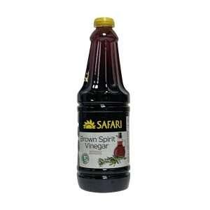 Safari Brown Spirit Vinegar 750ml bottle
