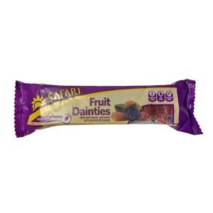 Safari Fruit Dainty Squares 250g pack
