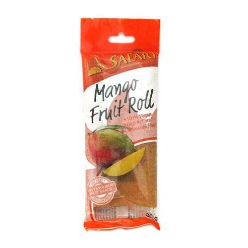 Safari Fruit Roll Mango 80g