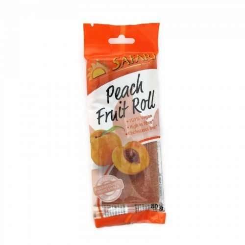 Safari Fruit Roll Peach 80g pack