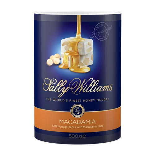 Sally Williams Nougat Macadamia 500g