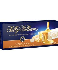 Sally Williams Nougat Macadamia 50g