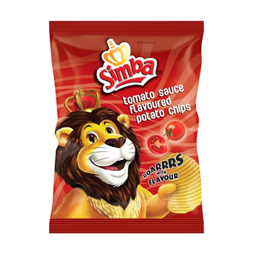 Simba Chips Tomato Sauce