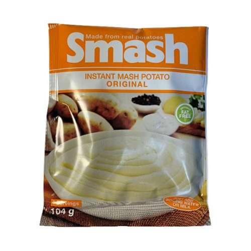 Smash Instant Mash Potato Original 104g pack