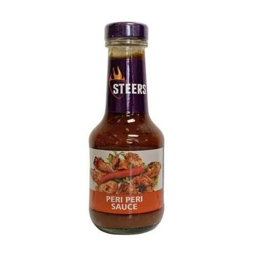 Steers Sauce Peri Peri 375ml bottle