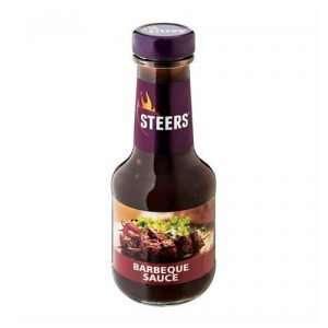 Steers Sauce BBQ 375ml bottle