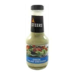 Steers Salad Dressing Greek 375ml bottle