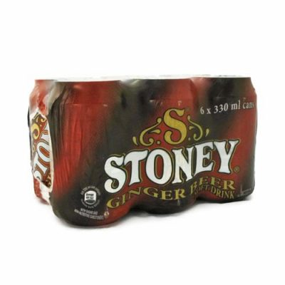 Stoney Ginger Beer 6x330ml cans