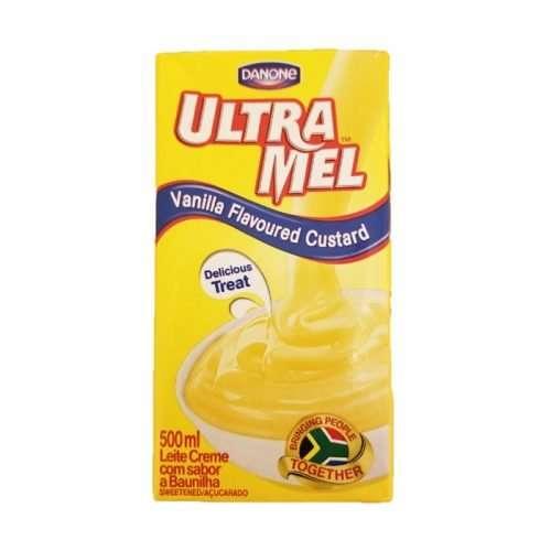 Danone Ultramel Custard 500ml carton