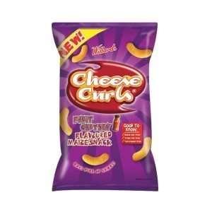 Willards Cheese Curls Maize Snack Fruit Chutney 150g