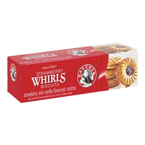Bakers Strawberry Whirls