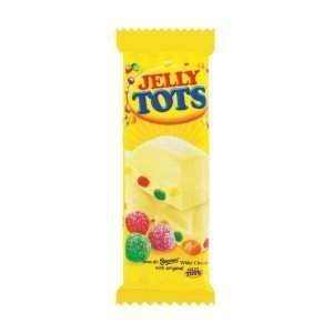 Beacon White Chocolate with Original Jelly Tots 48g