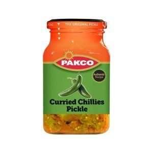 Pakco Atchar Curried Chillies 350g jar