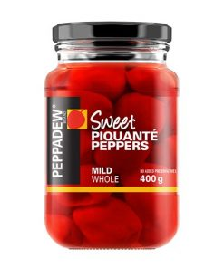 Peppadew Mild Piquante Peppers Whole 400g jar
