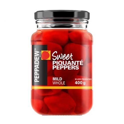 Peppadew Mild Piquante Peppers Whole 400g jar