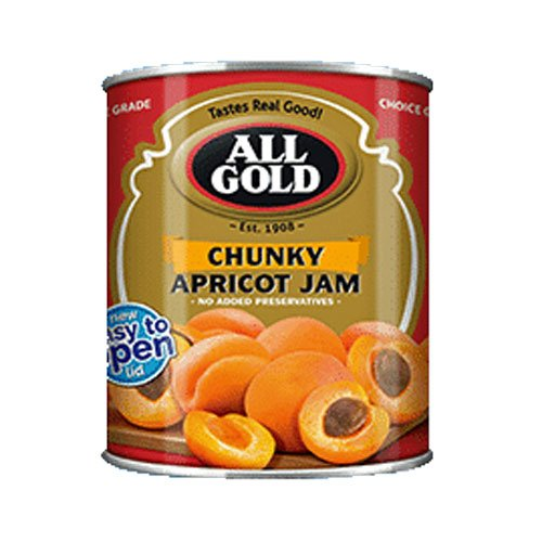 All Gold Jam Apricot Chunky 450g can