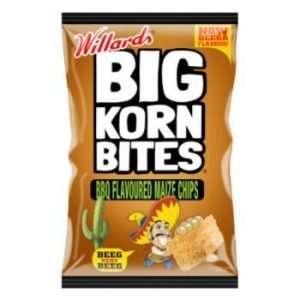 Willards Big Corn Bites BBQ 120g