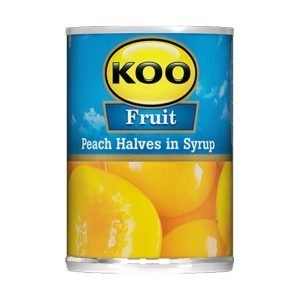 KOO Canned Fruit Peach Halves 410g can