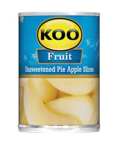 KOO Canned Fruit Sliced Pie Apples 385g can