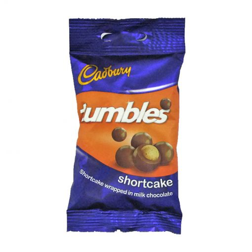 Cadbury Tumbles Shortcake 65 packet