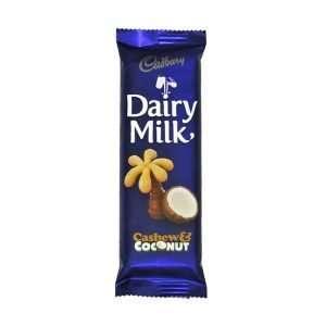 Cadbury Cashew & Coconut 80g bar