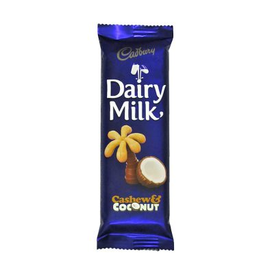 Cadbury Cashew & Coconut 80g bar