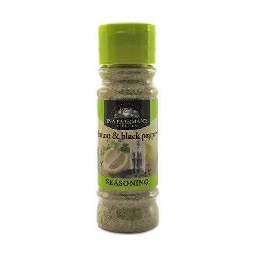 Ina Paarman Seasoning Lemon & Black Pepper 200ml jar