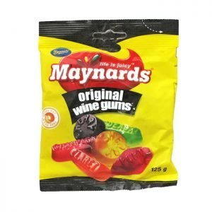 Maynards Original Wine Gums 125g bag
