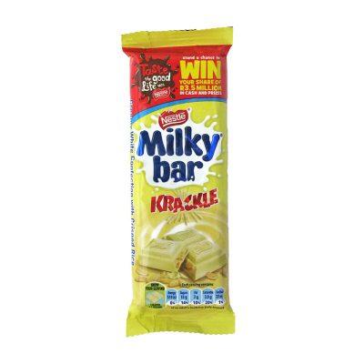 Nestle Milky Bar Krackle 80g bar