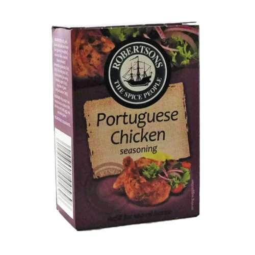 Robertsons Spice Portuguese Chicken Refill 75g box