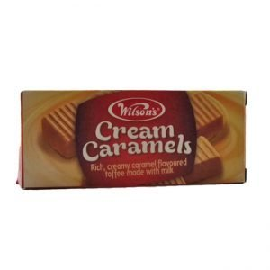 Wilson Toffo Cream Caramels 64g